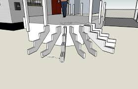 Corner Deck Stairs Design Deck Design Input Apron Stair Doityourself Community Forums