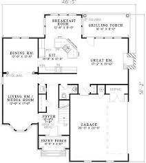 Media Room Plans - 3 bedroom 2 bath european house plan alp 07e1 allplans com
