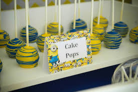 minion centerpieces kara s party ideas despicable me minion themed birthday party