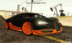 bugatti veyron supersport bugatti veyron supersport для gta san andreas