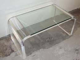Lucite Coffee Table Ikea by Contemporary Lucite Coffee Table Vintage