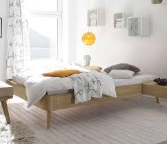 Schlafzimmer Gr E Holzbett Ohne Kopfteil Eiche Massiv 60er Jahre Design Rakaia