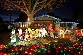 woodland hills christmas lights candy cane lane the west valley warner center chamber of commerce
