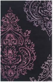 Purple And Black Area Rugs Rug Imr720h Isaac Mizrahi Area Rugs By Safavieh