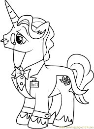 fancy pants coloring page free my little pony friendship is
