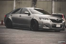 widebody subaru forester toyota camry v40 widebody rear