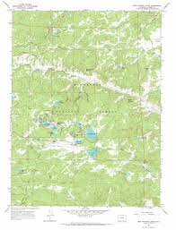 Colorado Road Map by Red Feather Lakes Topographic Map Co Usgs Topo Quad 40105g5