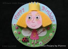ben u0026 holly cake 2nd birthday dream cake