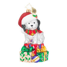 christopher radko ornaments pippa animal ornament 1019142