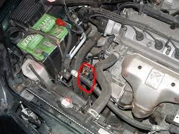 changing the automatic transmission fluid in a honda accord 6th