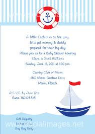 nautical baby shower wording baby shower nautical