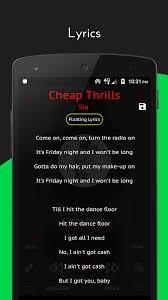 Hit The Floor Lyrics - crimson music player mp3 lyrics playlist android apps on
