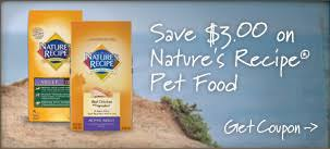 printable nature s recipe dog food coupons nature s recipe dry dog food or dry cat food printable coupon pet
