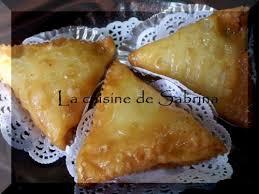 recette de cuisine alg ienne traditionnelle samsa à la pate légère gâteau algériens traditionnel aux amandes