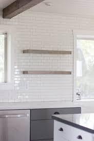 floating kitchen shelves with lights kitchen chronicles diy floating rustic shelves jenna sue design blog