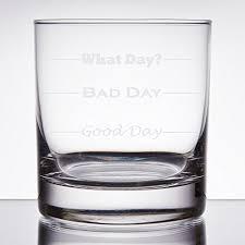 day bad day 11 oz rocks glass