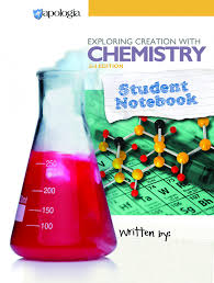 apologia chemistry 3rd ed student notebook