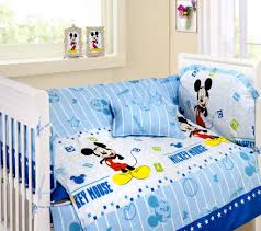 Baby Mickey Crib Bedding by Minnie Mouse Toddler Bedroom Home Pink Mickey Mouse And Minnie