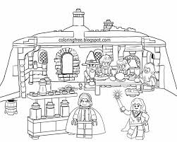lego harry potter coloring pages gallery of lego harry potter