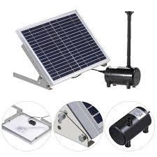 amazon com anself 17v 10w solar power water pump for garden pond