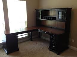 Black Desks With Hutch Best L Shaped Black Desk With Hutch U2014 All Home Ideas And Decor