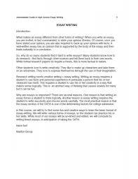 personal experience essay sample creativity essay