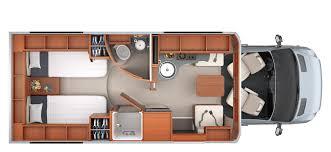 unity floorplans leisure travel vans unity tb floorplan