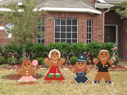 Christmas Yard Decorations Gingerbread Man Christmas Yard Decoration Updated 7 Steps With