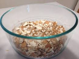 ground eggshells using eggshells as a source of calcium toxinless