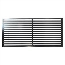 protector aluminium 900 x 1800mm oriental deco screen panel