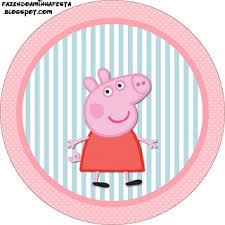 peppa pig free printable labels toppers parties