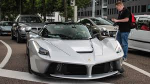 laferrari crash silver laferrari is epic despite its stupid name