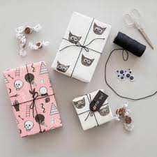 design your own wrapping paper seven ways to make your own wrapping paper vogue australia