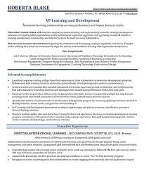 Sample Resume For Experienced Hr Executive by Résumé Samples Jane Falter