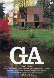 fisher house louis i kahn esherick house and fisher house global architecture