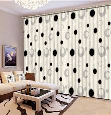 Black And White Bedroom Drapes Online Get Cheap 3d Curtains Aliexpress Com Alibaba Group