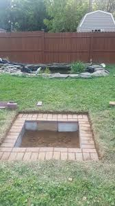 Ideas For Fire Pits In Backyard by Top 25 Best In Ground Fire Pit Ideas On Pinterest Sunken Fire
