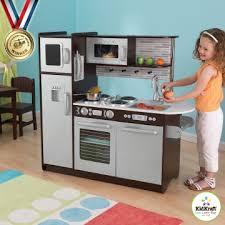 jeux cuisines cuisine enfant uptown expresso en bois kidkraft petit cuisinier