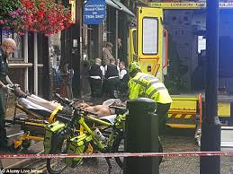man is stabbed in the neck in central london attack daily mail