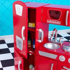 Kidkraft Kitchen Red - awesome red kidkraft kitchen taste