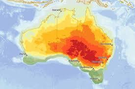 map od australia heat map of australia on february 10 abc news australian