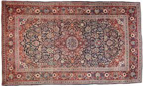 Kashan Persian Rugs by Kashan Old Carpet 222x137 Id1395 Buy Your Kashan Oriental Carpet