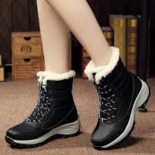 womens warm boots size 12 boots winter warm boots bottom platform