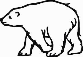 fancy ideas polar bear outline printable tattoo image clipart cute