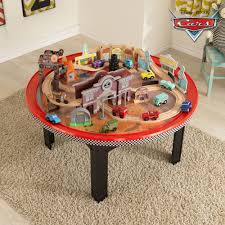 Brio Train Table Set Kidkraft Disney Cars Cadillac Range 61 Piece Racetrack Set