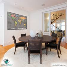 Map Home Cool Color World Map Modern Design World Map