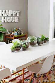 terrarium planter table runner terraria planters and plants