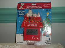 hallmark 2011 peanuts snoopy u0027s countdown to christmas ornament ebay
