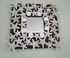Handmade Home Decor Best 25 Starfish Mirror Ideas On Pinterest Beach Style Wall