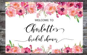 baby shower welcome sign printable bridal shower welcome sign bridal tea sign baby shower